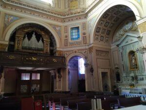Montegrosso interno parrocchiale